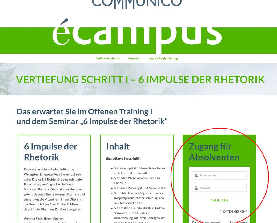 Communico-eCampus-FAQ-Vertiefung-Schritt1